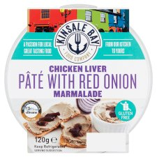 Kinsale Bay Food Co Red Onion Chicken Liver Pate 120G